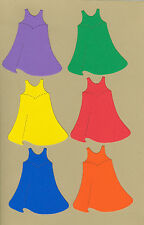 Your choice of colors on Stick Kids Prom Dresses Die Cuts