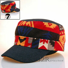 J2R Brand New Unique Colorful Work Military Cadet Ball Cap Adjustable JRW102