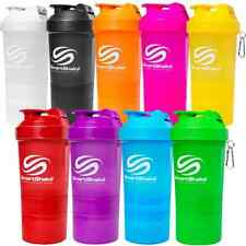 SmartShake NEON SERIES Protein Shaker Blender Bottle Mixer Cup 20 oz