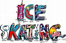 YOUTH Skating Letters 100% Cotton T-Shirt HUMOROUS & COLORFUL
