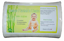 1 Roll  Bamboo Liners Flushable Biodegradable Environmental For Cloth Diaper