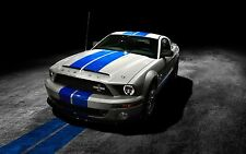 Sticker autocollant auto voiture ford mustang ref A216