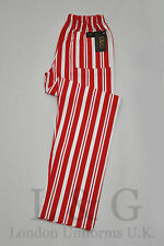 STRIPED CHEF TROUSERS L&G LONDON UNIFORMS U.K.