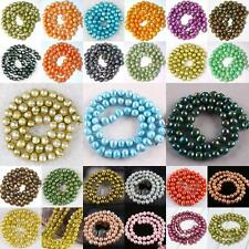 50pcs 7--8mm Freshwater Cultured Nugget Pearl Loose Beads Pick Color Jewelry