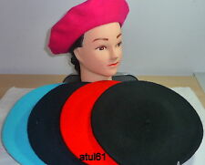 FRENCH UNISEX BERET BEANIE HAT FANCY DRESS HAT CAP NEW