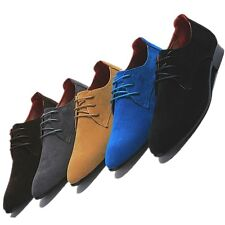 Synthetic Nubuck Leather lace up Business oxford Shoes mens elevator shoes  [JG]