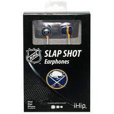 Official Licensed iHip NHL Slap Shot High Performance Noise-Isolating Earphones