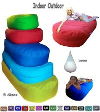 Large Bean Bags Sofa Beds In Out Door Lounger Beanbag Settee Bag Giant Day Bed