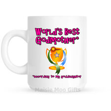 Worlds Best Mum Nan Gran Grandma Godmother Ceramic Gift Mug Birthday Mothers Day