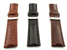 Genuine Crocodile Leather Watch Strap Band Mississippi 18mm 20mm 22mm 24mm - MM