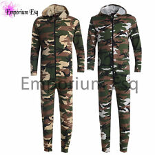 MENS BOYS OFFICIAL CASUAL ALL IN ONE CAMOUFLAGE NIGHT 1ZIE 1SEE SLEEPWEAR NIGHT