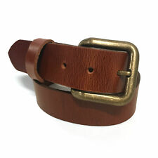 New Mens Handmade Full Grain Leather Belt