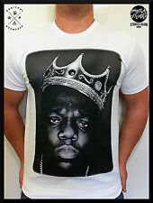 MENS  BIGGIE SMALLS SMALL T SHIRT  RAPPER HUSTLER   DC HIP HOP SIZE S M L XL
