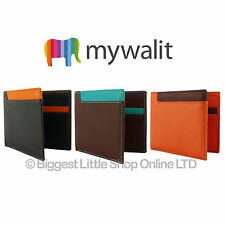 ★ MyWalit MENS Firenze WALLET Italian LEATHER Design NEW GIFT 3 Colour STYLISH ★