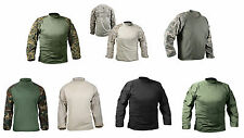 Military Lightweight Tactical Army Combat Shirt Solid Camouflage and Digital Top