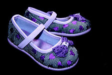 Adorable Toddler Girls Flats with Cute Bow Heart Shape Designs Sz: 2-12