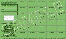 10 Hole In One Golf Fundraising/Scratch Cards