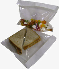 FILM FRONT CELLOPHANE PAPER CLEAR WINDOW SANDWICH BAGS FREE SAME DAY DISPATCH!!!