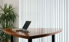 Made to Measure Rigid PVC vertical blinds Zurich material with vertical stripe
