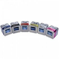 Mini Digital Portable Speaker Music MP3/4 Player Micro SD TF USB Disk FM Radio