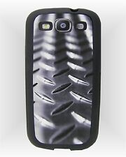 Samsung Galaxy S3 i9300 Cell Phone Rubber Case ~ Diamond Plate Image