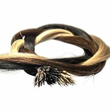 25strands Nano Tip Remy European Hair Extensions for use with Nano Rings