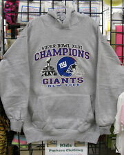New York GIANTS, Superbowl CHAMPIONS  Gray HOODIE-S, M, L, XL, 2XL, 3XL. 4XL,5XL