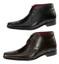 Red Tape Bartley Lace Up Mens Leather Boots with Pointy Toe