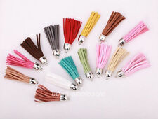 HOT5pcs New Artificial Leather Tassel pandent for bags,key chains 16colcor U pic