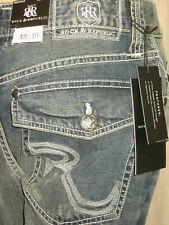 "ROCK & REPUBLIC ""HENLEE"" MEN'S JEANS 32W 34W 36W X 32L NWT"