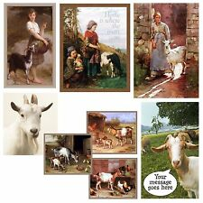 Goat Magnet Goat Kids Heidi Free Personalation Choose Fave Goat Picture