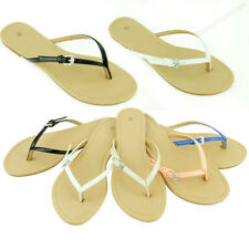 Womens Sandals Fashion Bling Buckle Summer Style Beach Flat Thongs Flip Flops