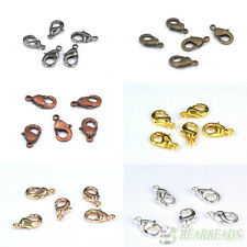 100pcs Top Quality Lobster Parrot Clasp Beads 6x10mm 7x12mm 8x14mm 9x16mm Pick