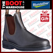 Blundstone Work Boots, 059, Brown, Elastic Sided, Non Safety Dress Boot.  New!