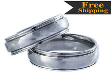 High Grade Classic Timeless Tungsten Carbide 6mm or 8mm Rings