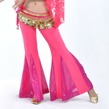 Belly Dance Costume Fishtail Flared Trousers Training Pants (no belt) 10 colours