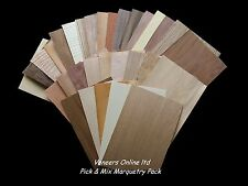 Pick Your Own Wood Veneer Marquetry Sheets Can Choose Iron-on or Unglued