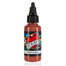 MOMS MILLENNIUM TATTOO INK BROWN SUGAR Bright Vibrant Color (2 Sizes Avail)