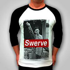 Mens Rare tee DIS OBEY SWAG Swerve 3/4 Long T SHIRT girls DOPE trendy womens top