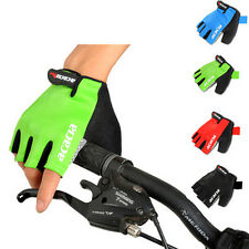 Sports Cycling Bike Bicycle Silicone GEL Half Finger Fingerless Gloves M/L/XL