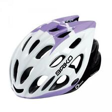 Briko cycling helmet unisex in-molding technology QUARTER white lilac 013,593