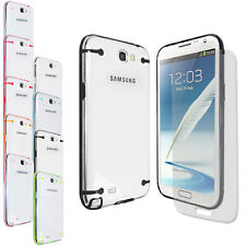 Glowing in the Dark Frame Case Cover FOR Samsung Galaxy Note 2 N7100+Screen Film
