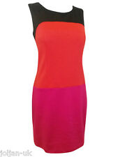 NEW LADIES LINEA HOUSE OF FRASER COLOUR BLOCK TUNIC DRESS SIZE 8 - 20 BNWOT