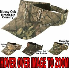 Mossy Oak New Break Up, Infinity, Realtree Xtra Camo Visor Camouflage Cap Hat