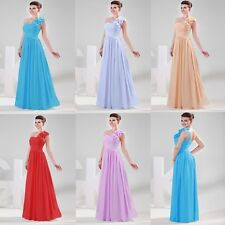 Sexy Bridesmaid Long Ball Prom Birthday Gowns Women Party Formal Evening Dresses