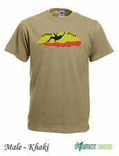 Climbing Rocks Wall Climb Indoor Outdoor Mens T-SHIRT M-2XL FREE P&P - khaki