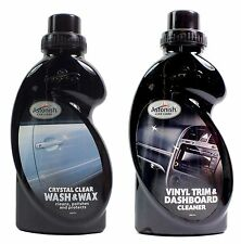 Astonish Car Care - Crystal Clear Wash & Wax and Vinyl Trim Dashboard Cleaner