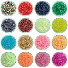 1000 Pcs 2mm Czech Glass Seed Spacer beads Jewelry Making DIY Pick More Color