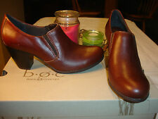 B.O.C. Francis brown Leather Bootie Shoe Comfortable Nice Quality $100.00 8.5 9.