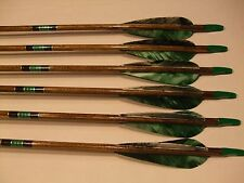 6 Wood Arrows for recurve or Longbow